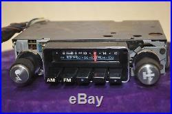 Delco GM old Vintage Classic RETRO factory car dash audio RADIO am fm