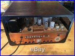 Drake 2-B Vintage Ham Radio Communication Receiver for Parts or Restoration