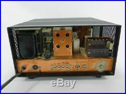 Drake R-4B Vintage Tube Ham Radio Receiver for Parts or Restoration SN 14136B