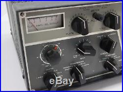 Drake T-4XB Vintage Ham Radio Transmitter for Parts or Restoration SN 13879R