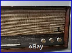 Grundig Type 4570 U/Stereo Radio Germany For Parts Repair