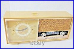 Harvest Gold Vintage Radio Sold for Repair & Parts Untested