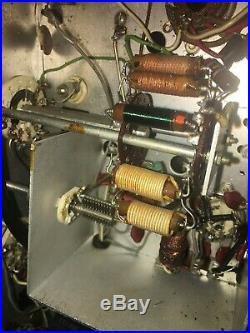 Heathkit DX-40 Vintage HF Radio Transmitter CW-AM For Parts or Restoration