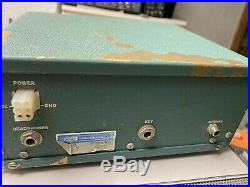 Heathkit HW-7 Vintage QRP Ham Radio Transceiver Parts Only Case In Tough Shape
