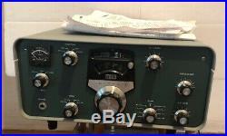 Heathkit SB-310 Vintage Ham Radio Receiver for Parts or Restoration POWERS-UP