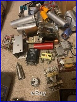 Huge Lot Of Ham Radio Parts Vintage Estate Find Rare