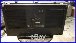 JVC RC-828jw Vintage Boombox as is for parts / fix / VERY NICE GHETTO BLASTER