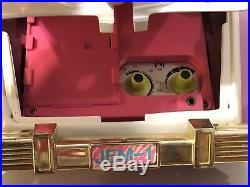 Jem Holograms Roadster Rare Glitter And Gold Car Radio & Doll Vintage Rare Parts