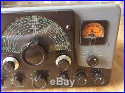 Johnson Viking Ranger Ham Radio Transmitter For Parts Or