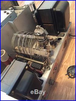 Johnson Viking Ranger Ham Radio Transmitter For Parts Or Repair Vintage Com