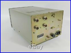 Kenwood SM-220 Vintage Ham Radio Station Monitor (parts or repair) SN 750167