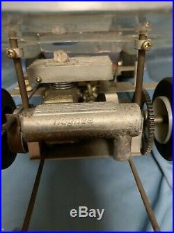 Kyosho vintage engine radio control car F/S japan for parts