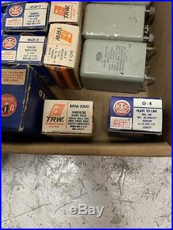 LOT of Transformer Filters Band Pass Parts TRW UTC SANGAMO VINTAGE HAM RADIO