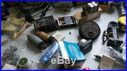 Large Job Lot Of Military Aircraft / Valve Radio Componenets, Valves, Parts