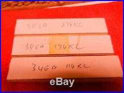 Lot of Vintage Ham Radio parts. Motorola, Bliley, Amperex, James Knight, Snelgrove