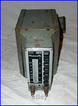 Motorola Vintage Antique Dash Radio Mopar Dodge Brothers Plymouth Chrysler 1939