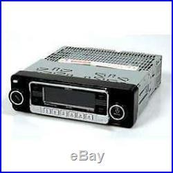 NEW AM FM Car Stereo Radio Vintage 70's Style iPOD & USB Inputs Bluetooth & CD