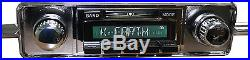 NEW VW Bug Beetle AM FM AUX USB MP3 300 watt Vintage Look iPod ready Radio 58-67