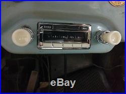 NEW Vintage look Becker style PORSCHE 356 AM FM iPod Car Radio with IVORY Knobs