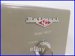National HRO-7T Vintage Ham Radio Receiver for Parts or Restoration SN 232 0970