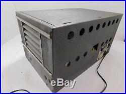 National NC-2-40D Vintage Ham Radio Receiver for Parts or Restoration