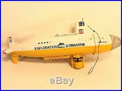 Nikko RC Exploration Submarine 105 Vintage Radio Control System RB-2110 Parts