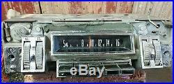 OEM VINTAGE 1968-1971 DODGE, PLYMOUTH AM THUMBWHEEL RADIO (MOPAR) B body