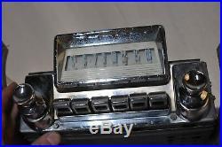 Old 1956 Mercury Classic RETRO vintage original car dash RADIO Made in USA ford
