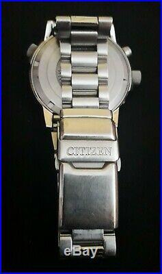 Original Citizen Promaster Eco-drive Radio Controlled Wr 200, Repair Or Parts