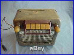 Original Vintage Chevy Truck Radio 1946 1947 1948 1949 1950 1951 1952 1953