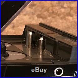 PARTS REPAIR Sony WM-F10II Walkman Portable Vintage Cassette Player Radio AS-IS