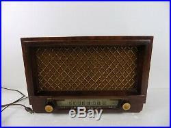 Philco Vintage Wood Case Table Model Philco Radio Model #53-954 Parts Only