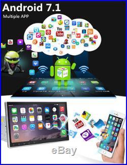 Quad-Core Android 7.1.1 4GB RAM 10.1 1080P 2DIN Car GPS Navigation Stereo Radio