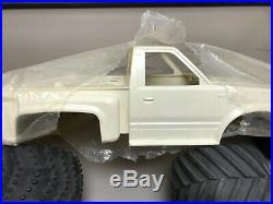 Rare NIP parts lot Marui Big Bear. Imex tires, new body. Vintage Radio Control