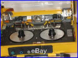 Rare SONY SOLAR WALKMAN WM-F107- 1987 Vintage For Parts or Repair