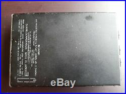 Rare Sharp C 869 Walkman Am FM Radio cassette player Vintage retro for parts