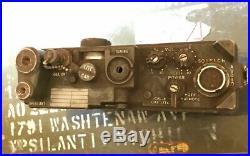 Rare Vintage U. S. Army Receiver Radio REC-XMTR RT-175/PRC-9 For Parts Jeep CB