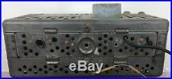 SUPER RARE VINTAGE MOTOROLA 1957 7M VOLKWAGEN BEETLE CAR RADIO AS IS for PARTS
