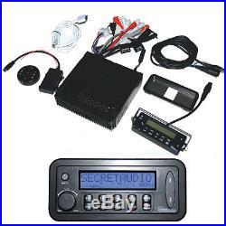 Secretaudio SST Package 4 Speakers 2 Amplifiers Subwoofers Vintage Radio