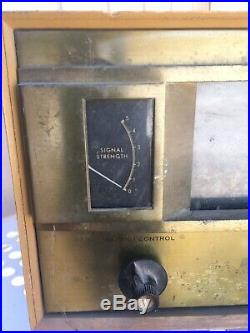 The Fisher Series Nintey Gold Cascode Model Fm 90x. Parts Or Repair