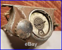 VINTAGE 1930s PONTIAC ACCESSORY CAR RADIO DIAL CONTROL HEAD UNIT TUBE RADIO