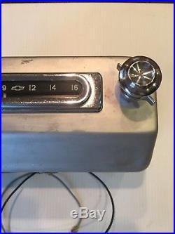 VINTAGE 1955 1956 1957 1958 1959 CHEVY TRUCK RADIO Restored