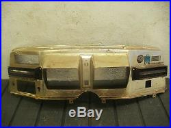 Vintage 1973 73 Pontiac Grandville Speedometer Cluster Dashboard Bezel Radio Ac