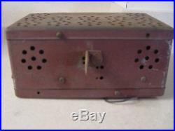VINTAGE CROSLEY CAR RADIO 6 volt 1946-52