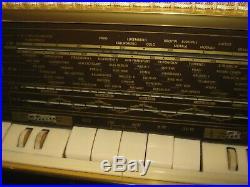 VINTAGE GRUNDIG Radio AM FM Tube Model 3059 Parts or Repair