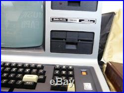 VINTAGE RADIO SHACK TRS 80 MODEL III COMPUTER With MANUAL FOR PARTS OR REPAIR