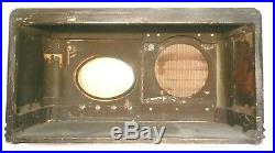 VIntage WARDS AIRLINE model 62-329 TABLETOP RADIO part SHELL & GRILL CLOTH