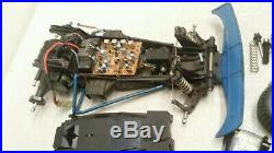 VTG 1/10 Radio Shack GOLDEN ARROW Traxxas Cat Frame Buggy RC car PARTS REPAIR
