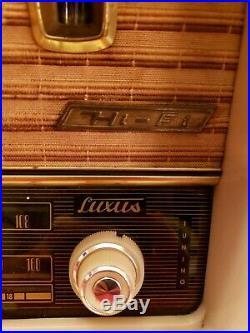 VTG Fonovox Loewe Opta Bella Luxus Tube Radio West Germany untested parts rare