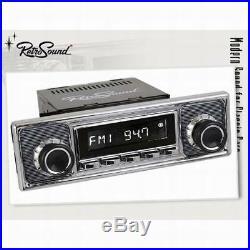 VW 411 412 Vintage Car Car Radio Retro Sound Becker Looks Design Fm UKW Aux Aux